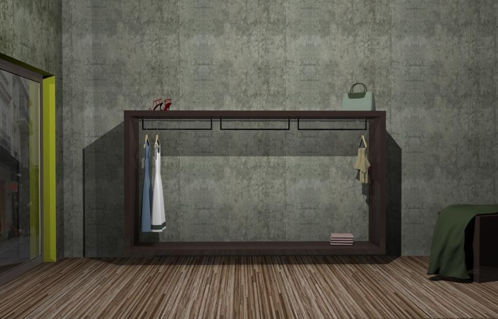 Επίπλωση καταστημάτων ρούχων - ένδυσης - υπόδησης  ab50875982f