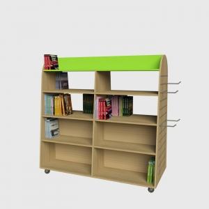 Γόνδολα προβολής βιβλίων γόνδολα βιβλιοπωλείου έπιπλα καταστηάτων διακόσμηση βιβλιοπωλείου επιπλώσεις εξοπλισμός