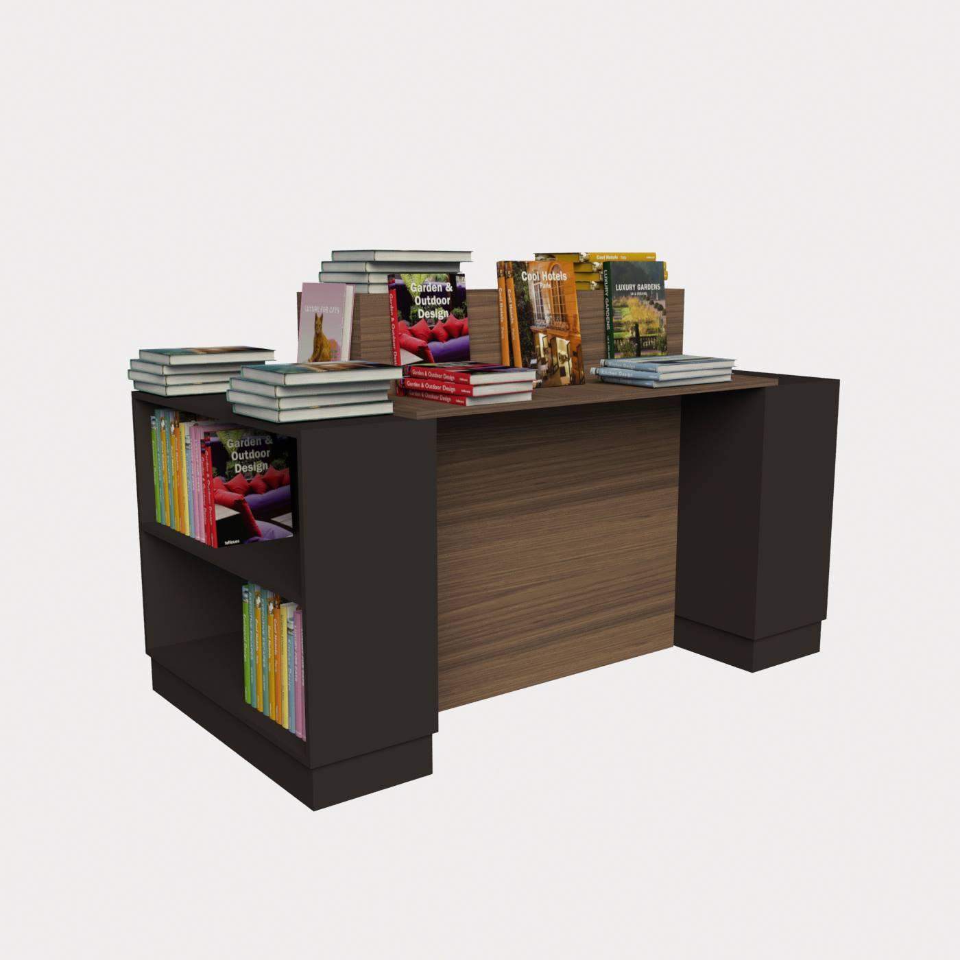 Γόνδολα ραφιέρα βιβλιοπωλείου έπιπλα βιβλιοπωλείων γόνδολες καταστημάτων πάγκοι για βιβλία