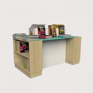 Πάγκος τραπέζι εκθετήριο βιβλιοπωλείου έπιπλο σταντ για βιβλία βιβλιοχαρτοπωλεία εξοπλισμός επιπλώσεις καταστημάτων