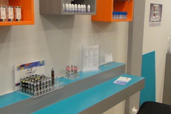 πάγκος εξυπηρέτησης καταστημάτων e-cigarettes