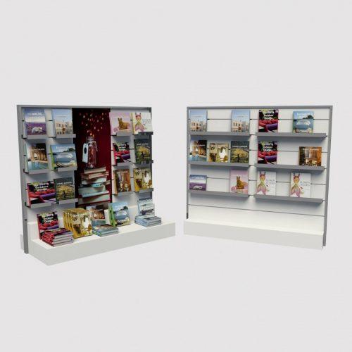 Έπιπλο βιτρίνας βιβλιοπωλείου σταντ βιβλίων βιβλιοπωλείου stand km storedesign