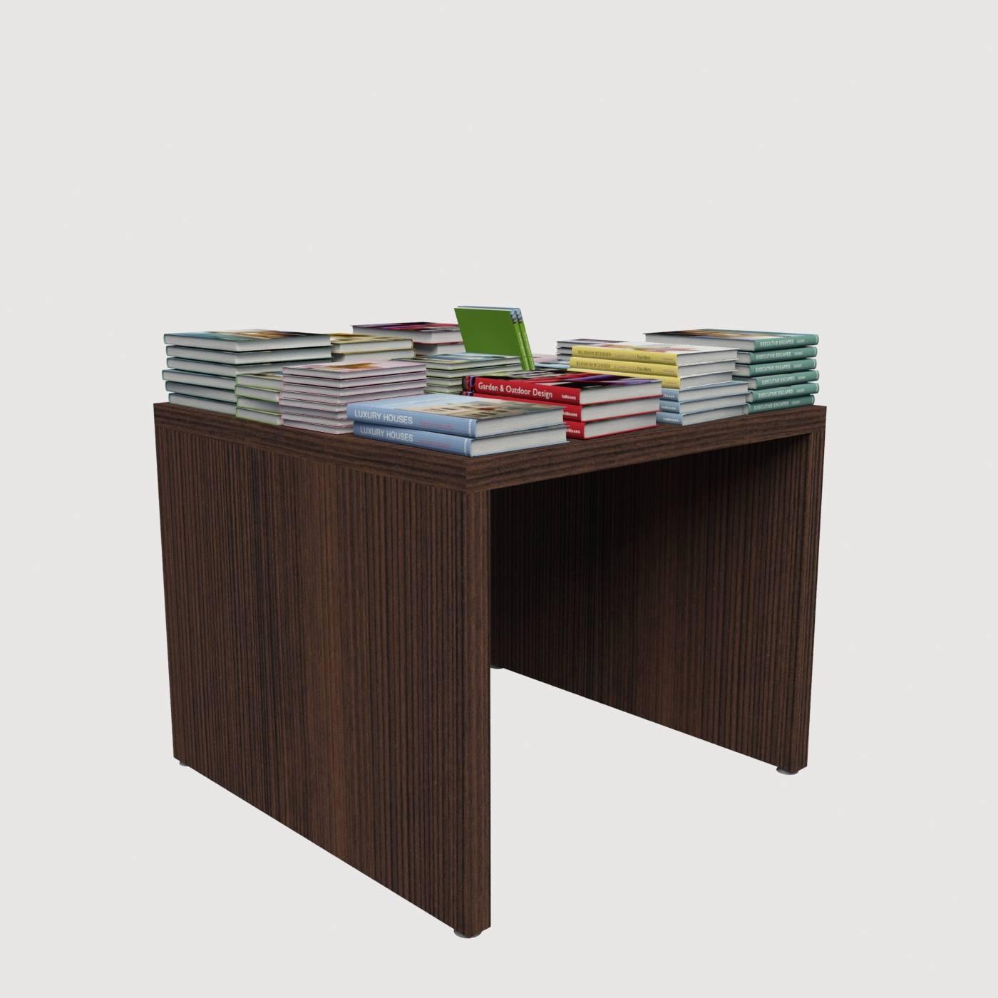 Έπιπλο τραπέζι κεντρικό καταστήματος βιβλιοπωλείου εξοπλισμός καταστημάτων έπιπλα για κατάστημα επαγγελματικό χώρο