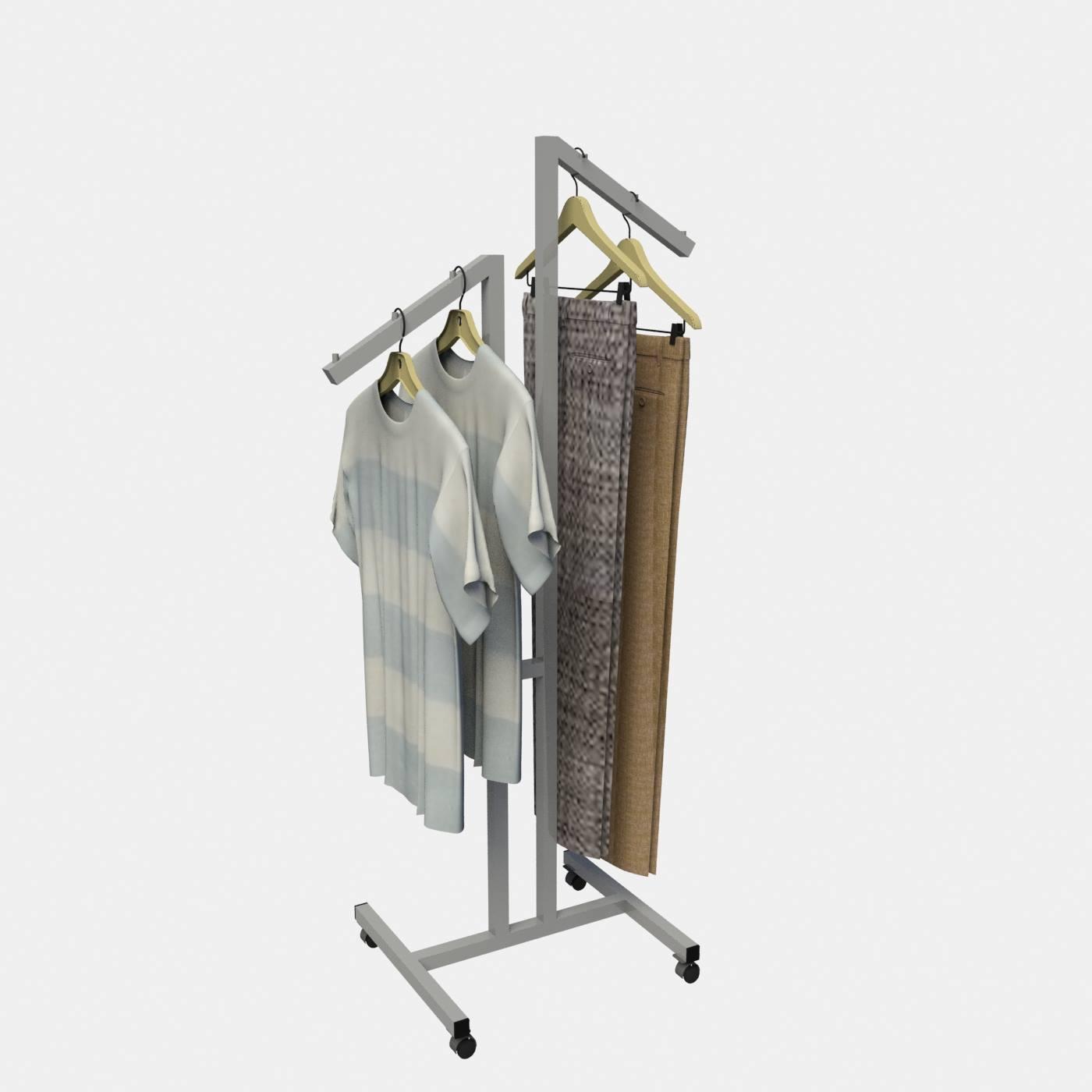 Καλόγερος ρούχων με κλίση σταντ ενδυμάτων έπιπλα καταστημάτων εξοπλισμός καταστήματος