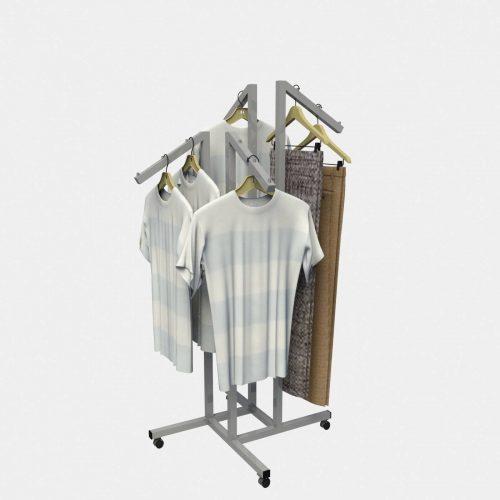 Καλόγερος σταντ ρούχων έπιπλα εξοπλισμός καταστημάτων επιπλώσεις καταστήματος