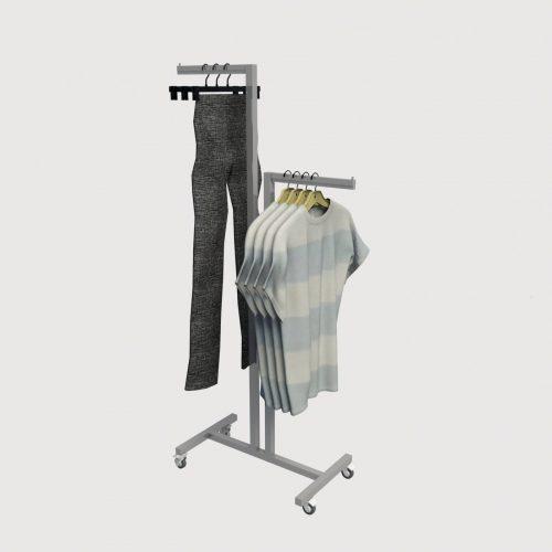 Μεταλλικός καλόγερος ρούχων σταντ ένδυσης έπιπλα επιπλώσεις καταστημάτων εξοπλισμός
