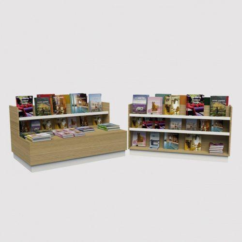 Πάγκος εκθετήριο βιβλιοπωλείου επίπλωση εξοπλισμός βιβλιοπωλείου διακόσμηση
