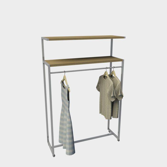Ραφιέρα ρούχων σταντ ενδυμάτων έπιπλα καταστημάτων επιπλώσεις εξοπλισμός
