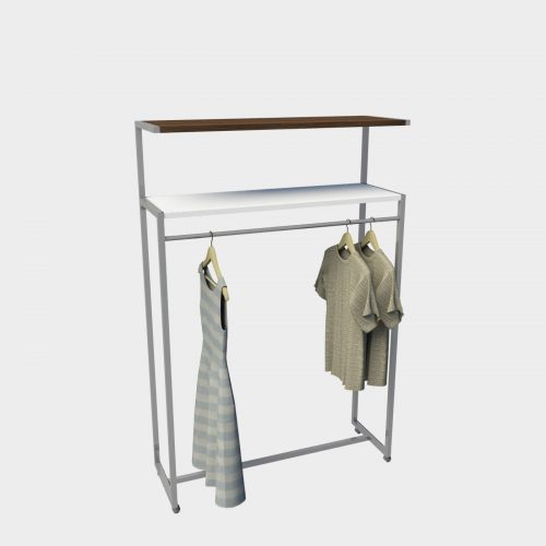 Σταντ εκθετήριο ρούχων km store design έπιπλα καταστημάτων εξοπλισμός
