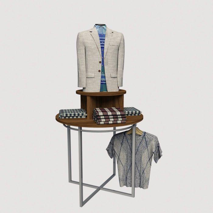 Σταντ ενδυσης ρούχων καταστημάτων KM store design έπιπλα καταστημάτων εξοπλισμός διακόσμηση