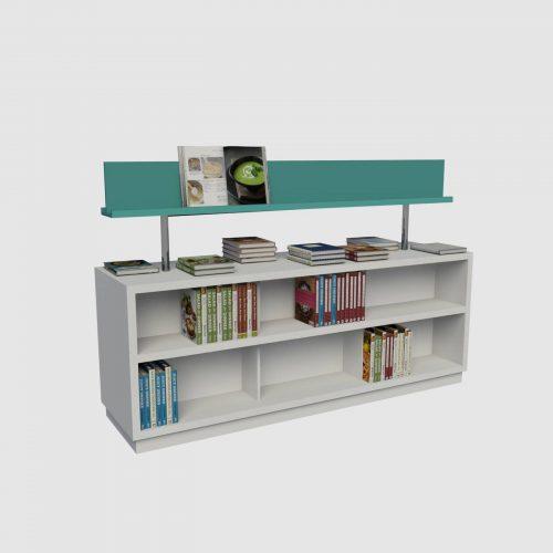 έπιπλο βιβλιοπωλείου έπιπλα για βιβλία γόνδολα εκθετήριο βιβλίων κεντρικό