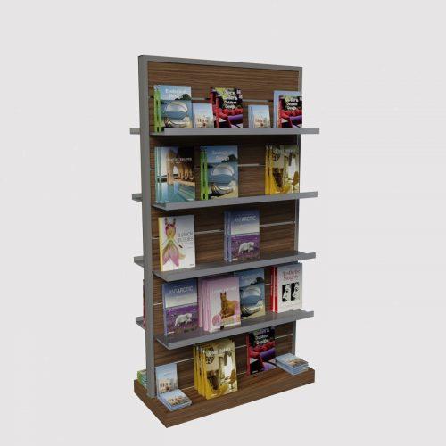 έπιπλο βιτρίνας βιβλιοπωλείου βιβλίο ραφιέρα βιβλίων κεντρικού χώρου καταστήματος