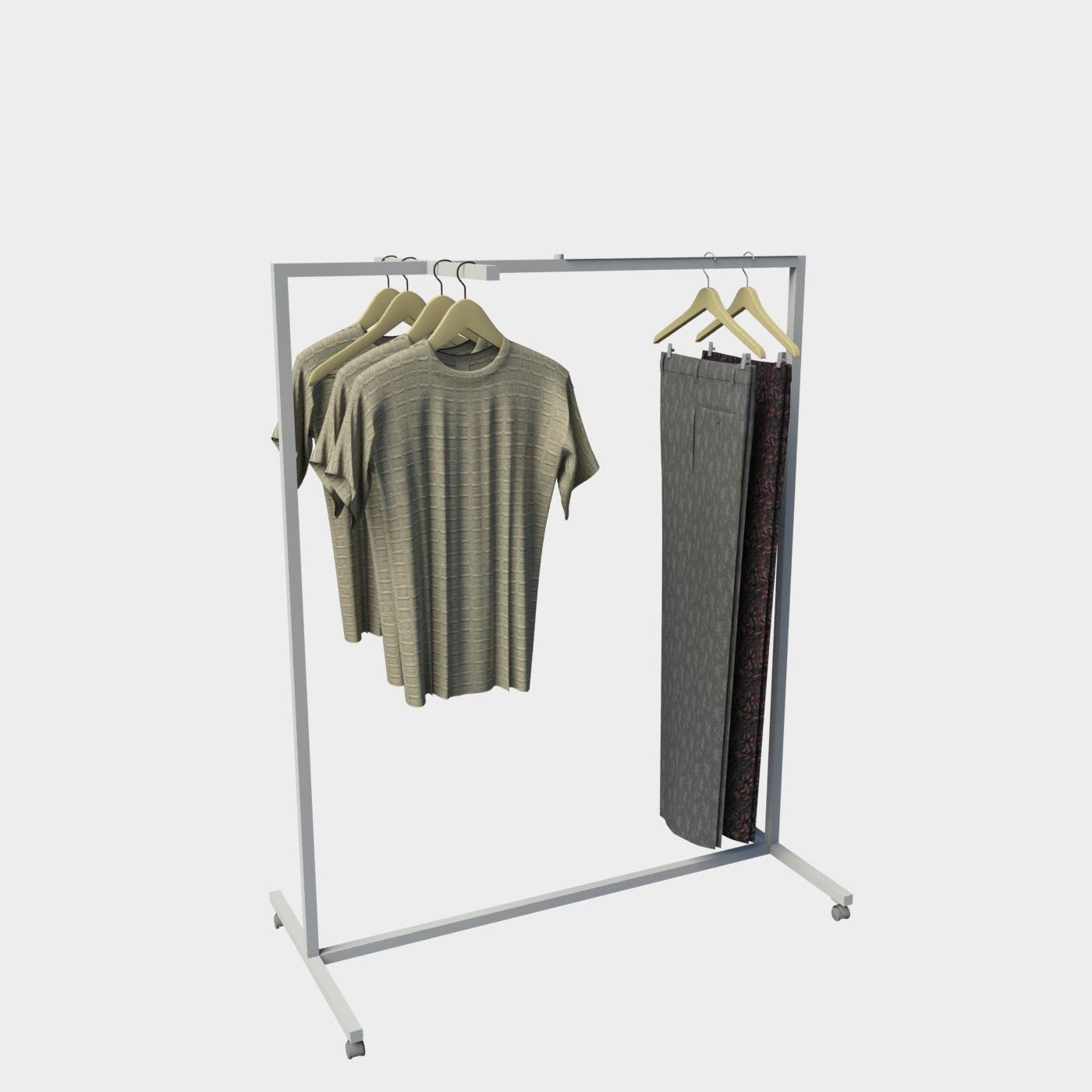 Stand επιδαπέδιο ρούχων καταστημάτων έπιπλα καταστήματος διακόσμηση εξοπλισμός ένδυσης
