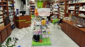 Ανακαίνιση φαρμακείου επίπλωση έπιπλα καταστημάτων φαρμακείων γόνδολες
