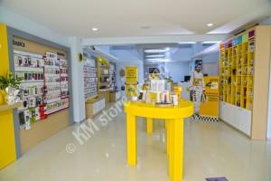 Κατασκευή καταστήματος κινητής τηλεφωνίας MTN στην Κύπρο