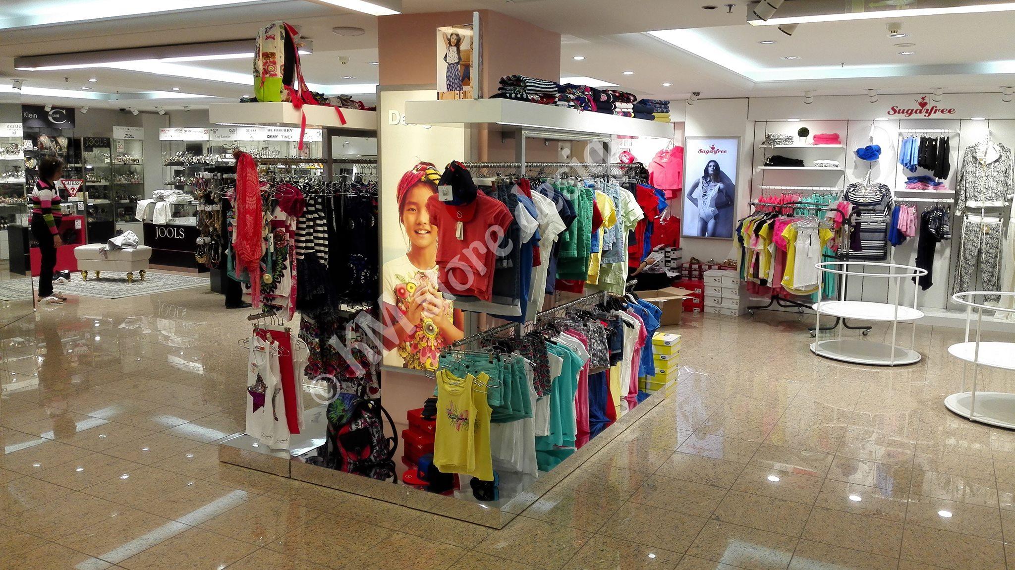 Κεντρικά Στάντ Μονάδες ρούχων Hondos Center Περιστέρι - KM store design 896eb38c646