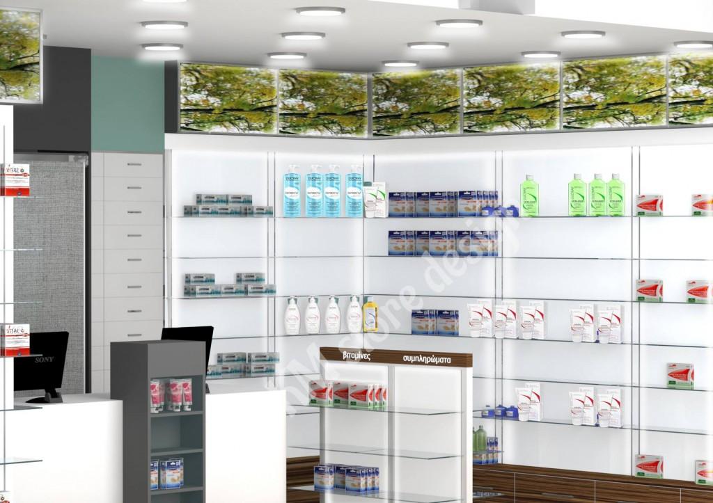 επιτοιχα-πανελ-με-γυαλινα-ραφια-γονδολα-φαρμακειου-εργονομικος-σχεδιασμος-φαρμακειου-σχεδια-καταστηματος-1024x723.jpg