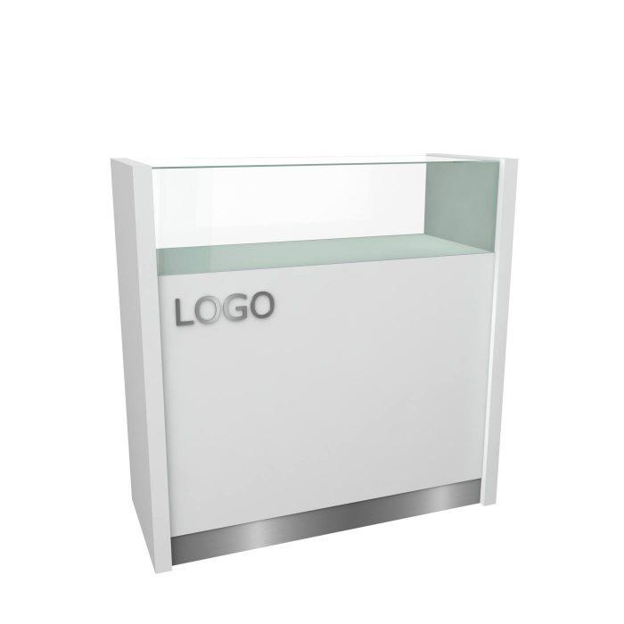 Γυάλινη συρταριέρα καταστήματος