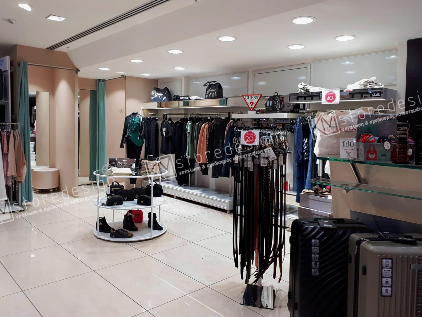8b6b10727f Κατασκευές για ρούχα Hondos Center Αιγάλεω - Επιπλώσεις καταστημάτων ...