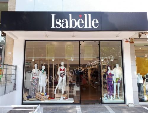 Κατασκευή καταστήματος εσωρούχων Isabelle Αγία Παρασκευή
