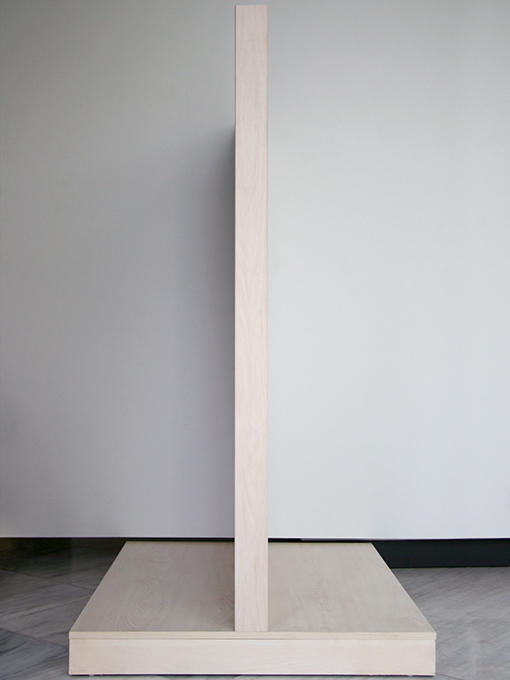 εκθετήριο slat panel