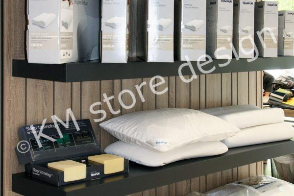 ράφια δειγματισμού προϊόντων