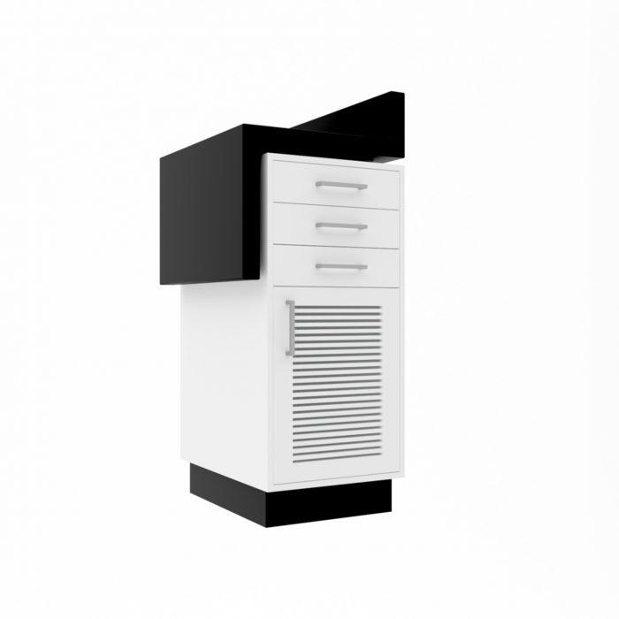 Έπιπλο Υπολογιστή ασπρόμαυρο