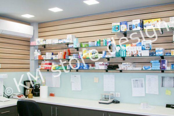 επίπλωση εργαστηρίου φαρμακείου