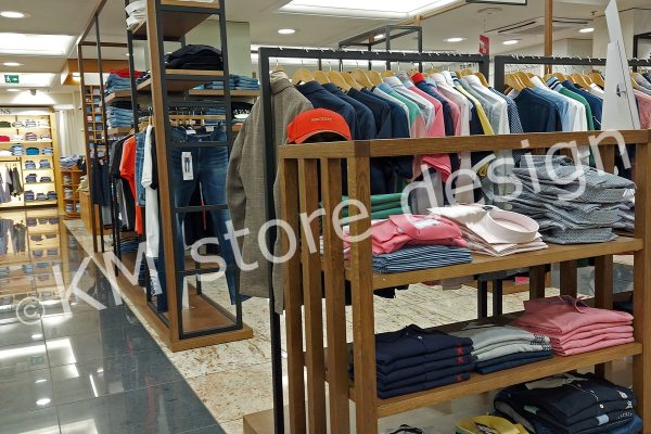 επίπλωση τμήματος ρούχων
