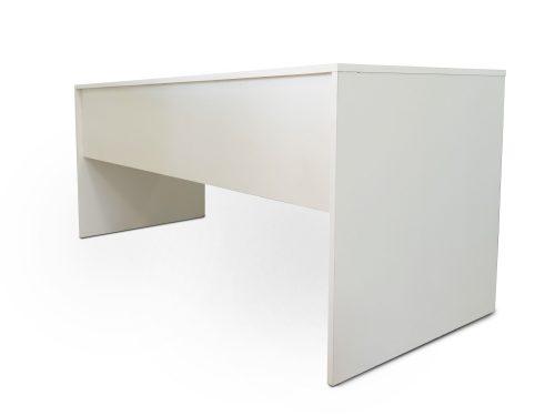 Εκθεσιακό λευκό απλό γραφείο
