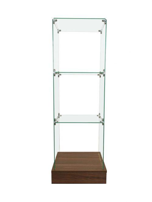 εκθεσιακή γυάλινη βιτρίνα -εκθετήριο