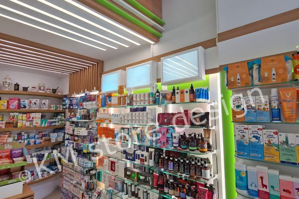 ειδικές κατασκευές φαρμακείων