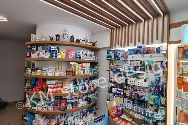 κατασκευές οροφής Φαρμακείου στο Π.Φάληρο